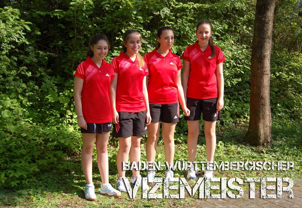 Vizemeister Baden-Württembergische Mannschaftsmeisterschaft 2014