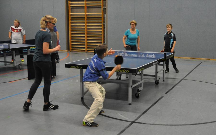 Mutter-Sohn-/Vater-Tochter-Turnier 2014