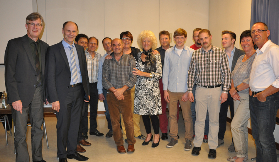 Neue Vorstandschaft nach der Mitgliederversammlung 2014