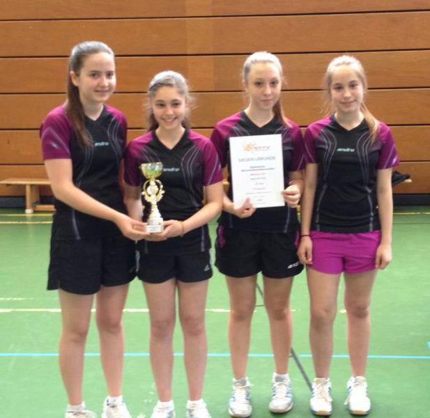 Südbadischer Mädchen U15 Meister 2014