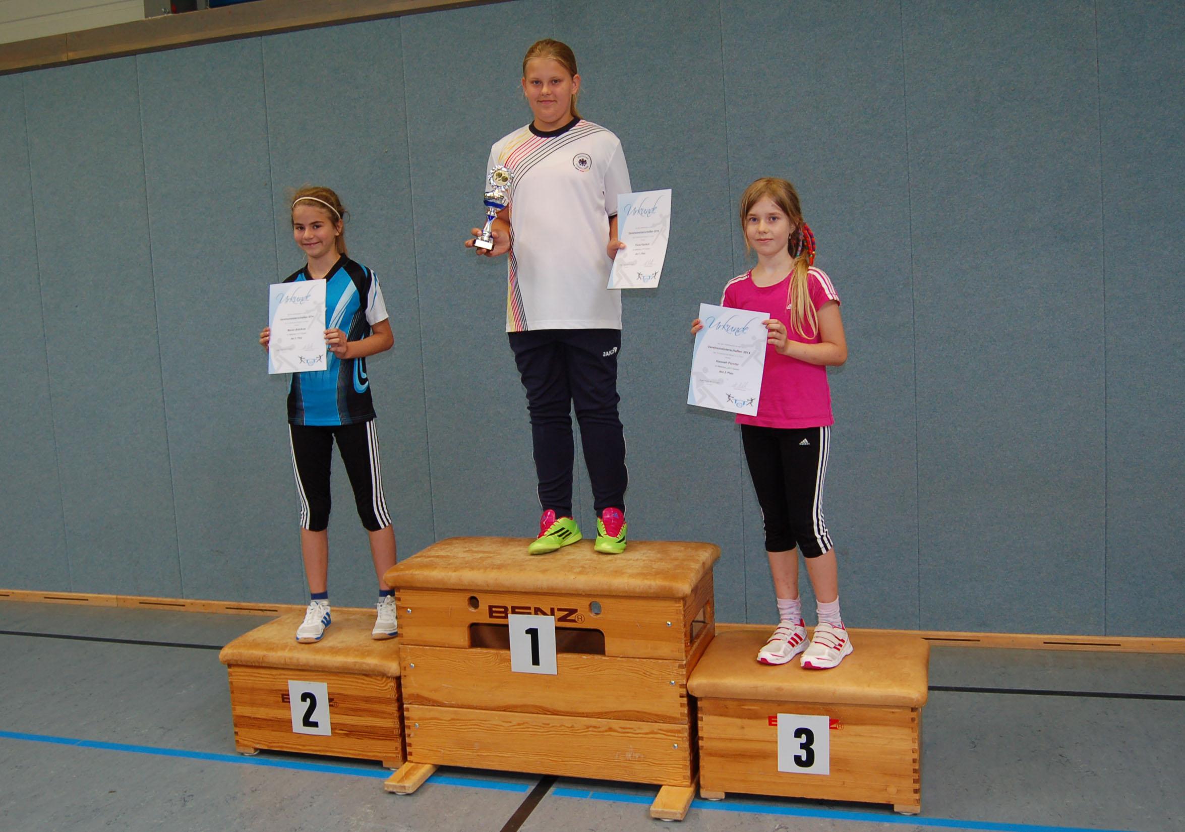 Vereinsmeisterschaft 2014 Mädchen U11