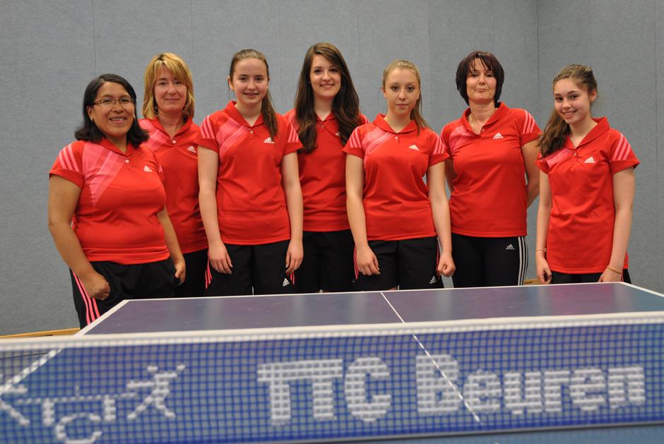 Damenmannschaft 2013/2014