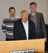 Uwe Maier, Werner Borho und Harry Olma