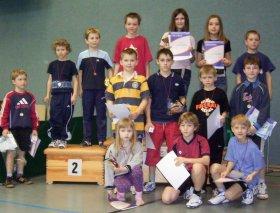 Bezirksentscheid der Mini-Meisterschaften